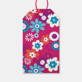 Flower Power Pack Of Gift Tags