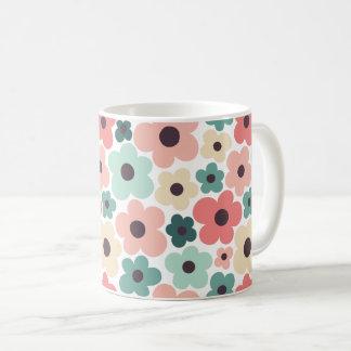 Flower Power Pattern Coffee Mug