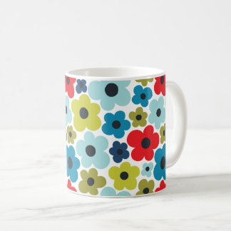 Flower Power Pattern Coffee Mug