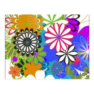 Flower Power! Postcard