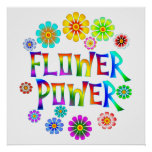 FLOWER POWER POSTERS