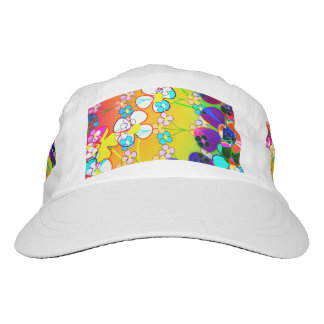 Flower Power Retro Pansies Hat