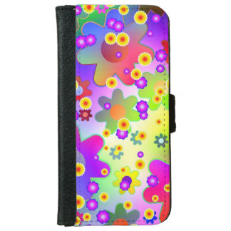 Flower Power Series iPhone 6 Wallet Case