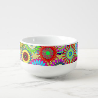 Flower Power Soup Mug