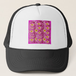 flower power trucker hat