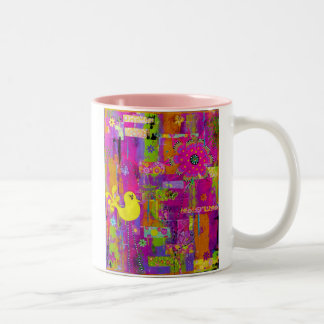 Flower Power Two Tone Mug