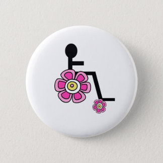 Flower Power Wheelchair Button