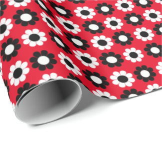 Flower Power Wrapping Paper