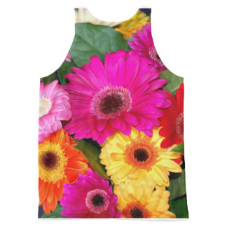 Flower Print All Over Shirt