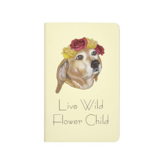 Flower Pup Notebook