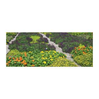 Flower Quilt Canvas Print