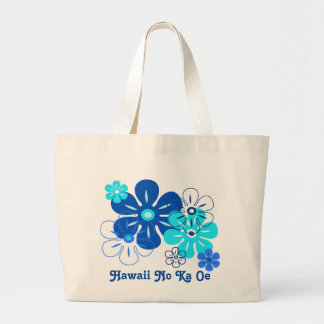 Flower Rain Hawaiian Beach Bags