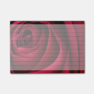 Flower Red Rose Post-it Notes