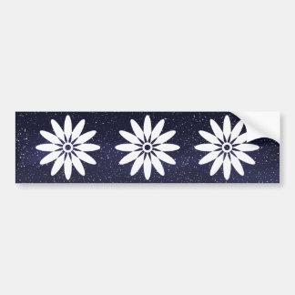 Flower Reproductives Minimal Bumper Sticker