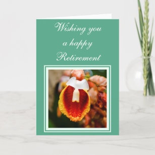 Retirement wishes cards greeting cards more zazzle ca flower retirement wishes card m4hsunfo