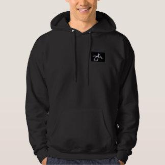 flower reverse hoodie