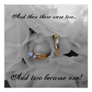 flower&rings, And then there were two..., And t... Poster