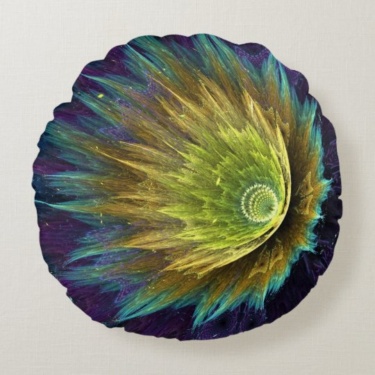 Flower Round Pillow