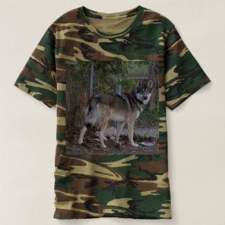 Flower Running Wolf T-shirt
