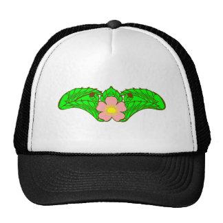 Flower sample floral pattern hats