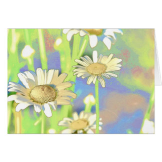 Flower Scapes Field of Daisies Greeting Card