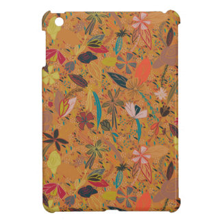 Flower seeds golden sun iPad mini cover