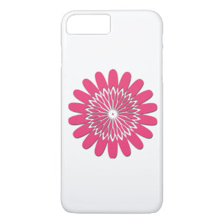 Flower Shadow Mandala iPhone 7 Plus Case