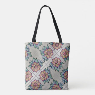 Flower Shadow Tote Bag
