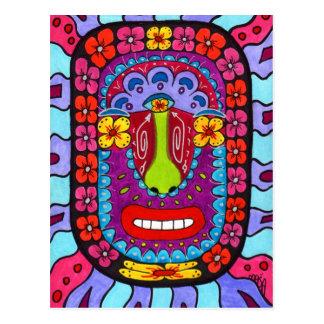 Flower Shaman #4 Postcard
