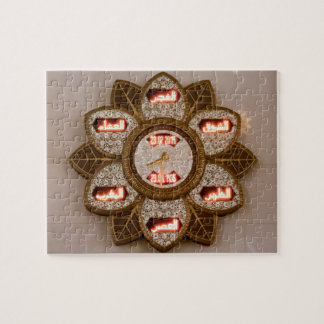 Flower shaped clock, Sheikh Zayed Grand mosque Puzzles