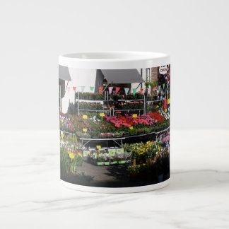 Flower shop giant coffee mug