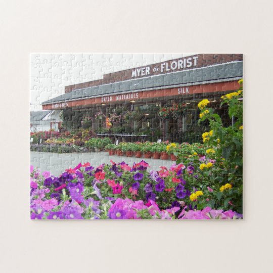 Flower Shop Puzzle