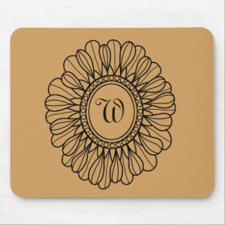 Flower Single Mouse Pad