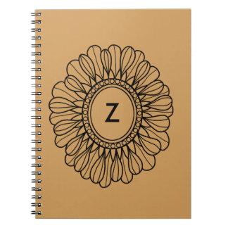 Flower Single Note Book
