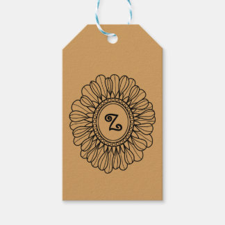 Flower Single Pack Of Gift Tags