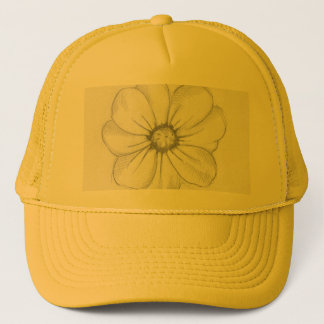 Flower Sketch Hat