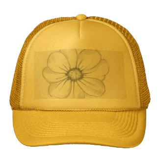 Flower Sketch Hat