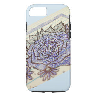Flower Sketch Phone Case