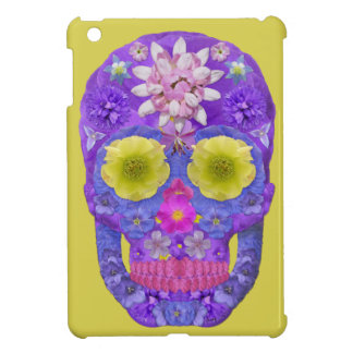 Flower Skull 5 iPad Mini Case