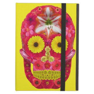 Flower Skull 6 Case For iPad Air