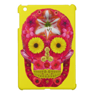 Flower Skull 6 iPad Mini Cover