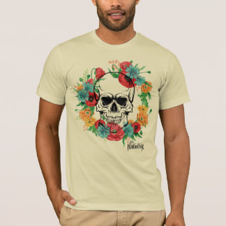 Flower Skull Excl T-Shirt