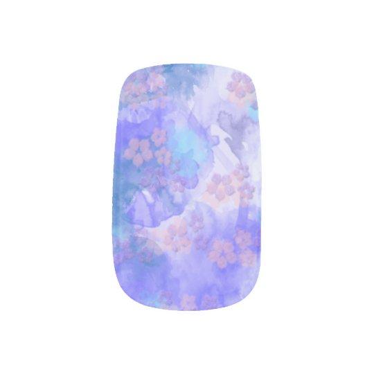 Flower Sky Nail Wrap