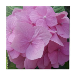 "Flower Small (4.25"" x 4.25"") Ceramic Photo Tile"