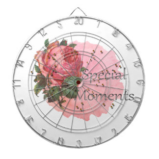 FLOWER SPECIAL MOMENTS DARTBOARD
