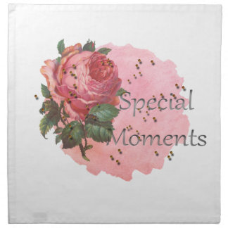 FLOWER SPECIAL MOMENTS NAPKIN