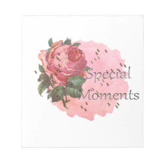FLOWER SPECIAL MOMENTS NOTEPAD