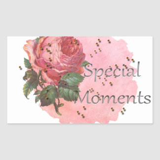 FLOWER SPECIAL MOMENTS STICKER