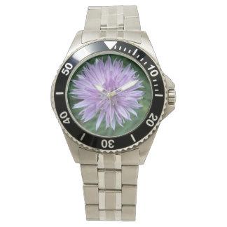 """Flower """"stainless steel"""" Bracelet watch"""