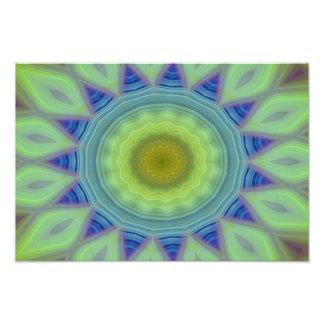 Flower/Star Mandala Photo